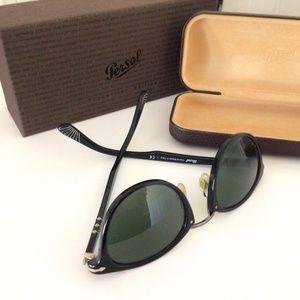 Persol Typewriter Edition Sunglasses, Black